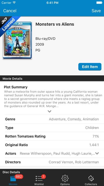 Movie Database: Blu-ray 4K DVD