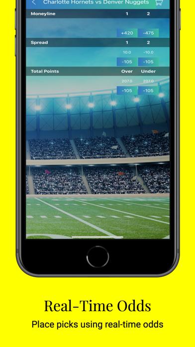 KingPin Sports Betting Picks Screenshot