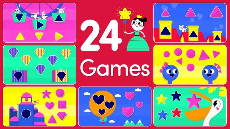 Shape games for kids toddlers screenshot-0