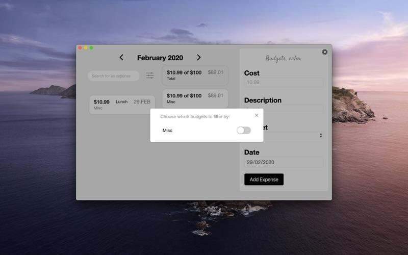 Budget Zen. скриншот программы 2