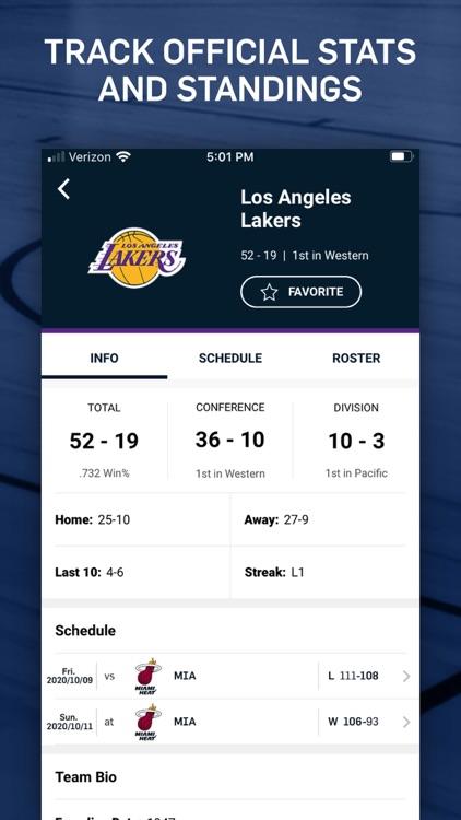NBA: Live Games & Scores screenshot-5