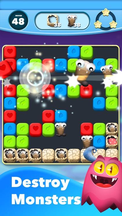 Monster Blast - Puzzle Game screenshot-3