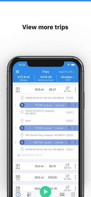 triplog mileage gas tracker on the app store