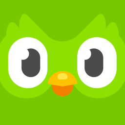 Ícone do app Duolingo
