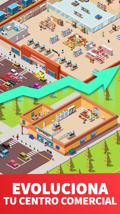 Screenshot for Idle Supermarket Tycoon - Shop in Colombia App Store