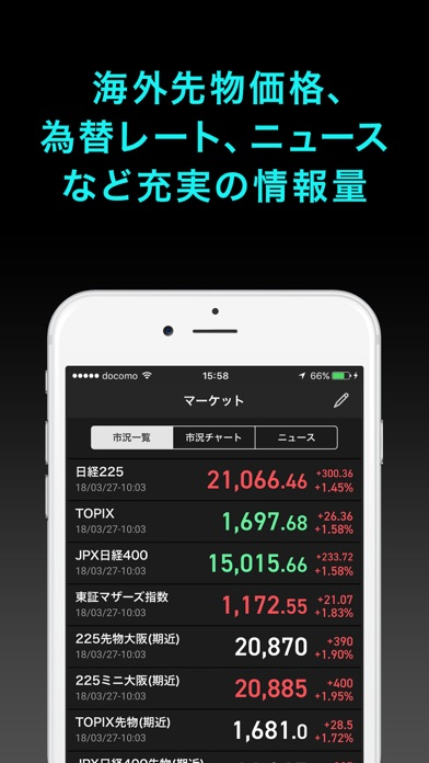 iSPEED 先物OP - 楽天証券の先物・オプションアプリ ScreenShot4