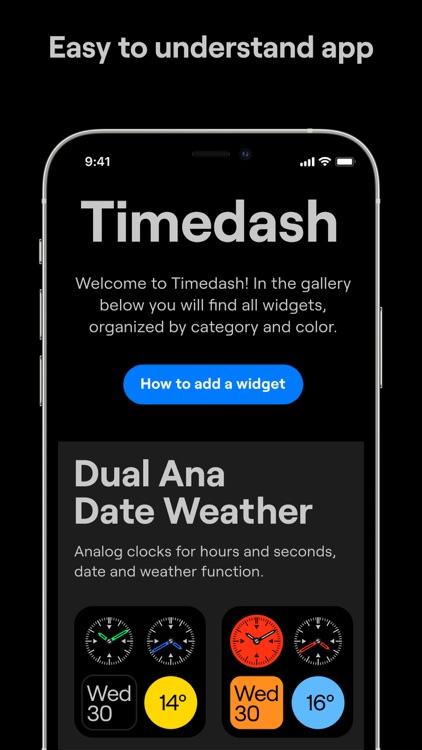 Timedash Widget screenshot-9