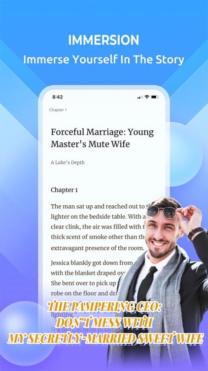 Webfic-Make Reading Fantastic screenshot-4