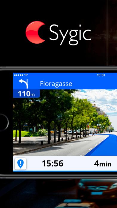 Sygic Europe review screenshots