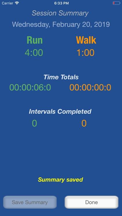 Runner's Interval Timer Pro screenshot-4