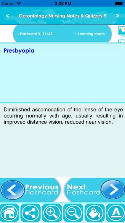 Gerontological Nursing Q&A App screenshot-4
