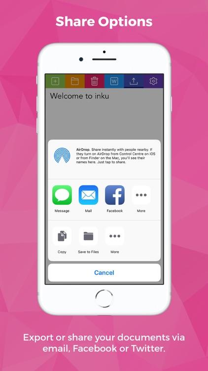 inku - tool for dyslexia screenshot-8