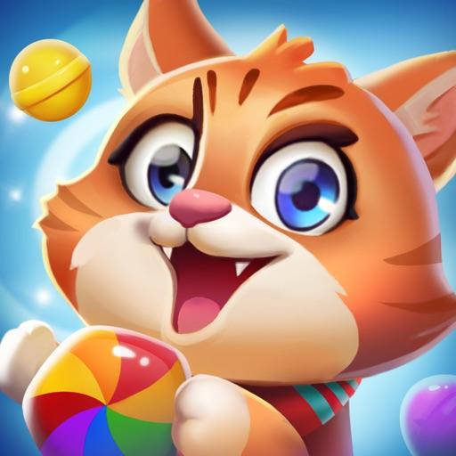 开心糖果猫 - 最牛宾果消消乐休闲小游戏