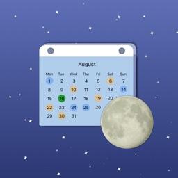 Moon Days Calendar