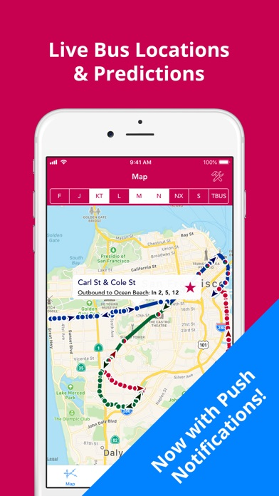 Screenshot for SF Muni Buses in Ukraine App Store