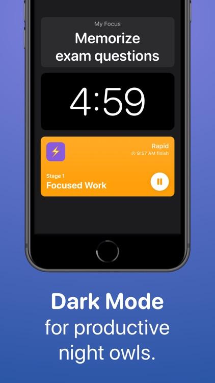 Focused Work - Stay Productive screenshot-4
