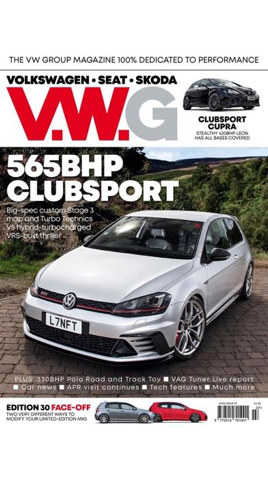 VWG Magazine screenshot 2