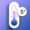 屋外温湿度計-室内温度&体温感知温度