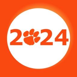 Clemson Class of 2024 Stickers