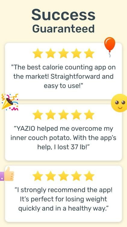 YAZIO Fasting & Food Tracker screenshot-6