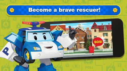 Screen Shot Robocar Poli: Rescue City Cars 0