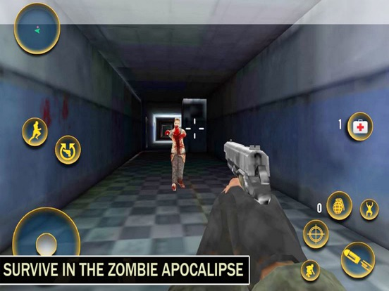 Ghosht House: Zombies Target-ipad-0