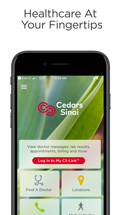 messages.download Cedars-Sinai software