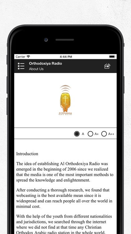 Orthodoxiya Radio screenshot-3
