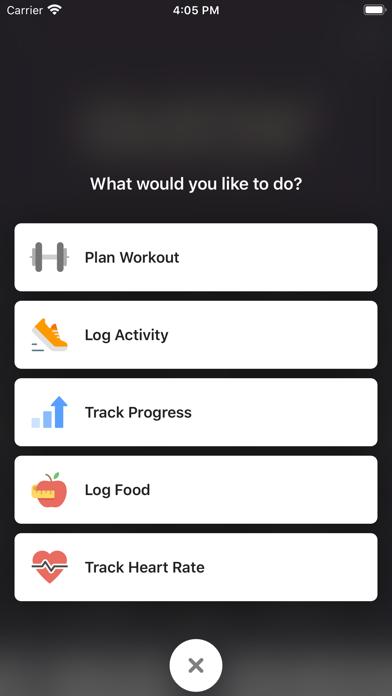 Gustav Gym App screenshot two