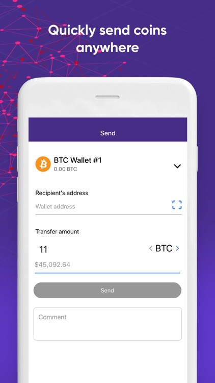 Quppy – Secure Bitcoin Wallet