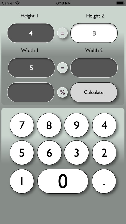 Graphic Proportion Calculator screenshot-3