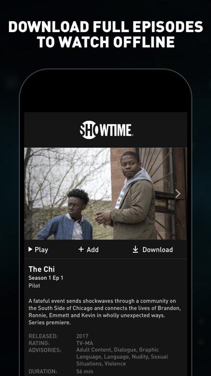 SHOWTIME: TV, Movies and More screenshot-3