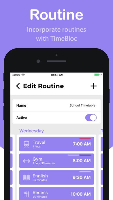 TimeBloc - Daily Planner screenshot