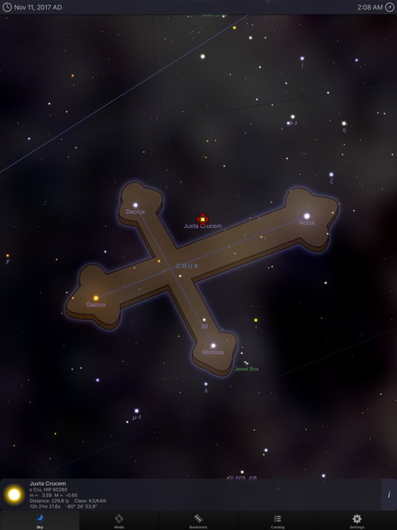 Screenshot #3 for StarMap 3D+ Plus