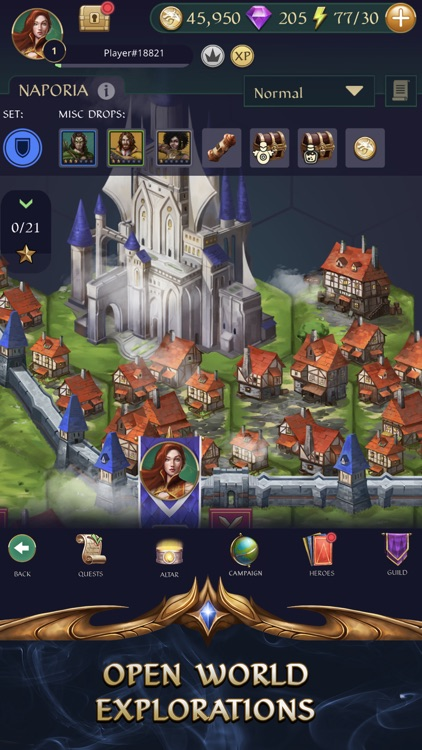 Gemstone Legends - Match 3 RPG screenshot-5