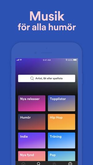 Spela in podcast app