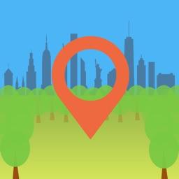 360 Central Park AR NYC Map