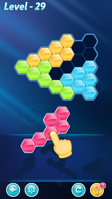 Screenshot for Block! Hexa Puzzle™ in United States App Store