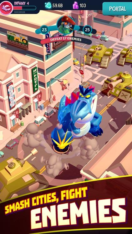 I Am Monster: Idle Destruction screenshot-0