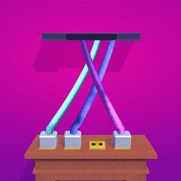 Tangle 3D - solve the tangle