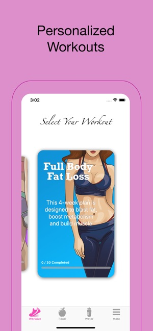 FitHer: Weight Loss for Women on the App Store