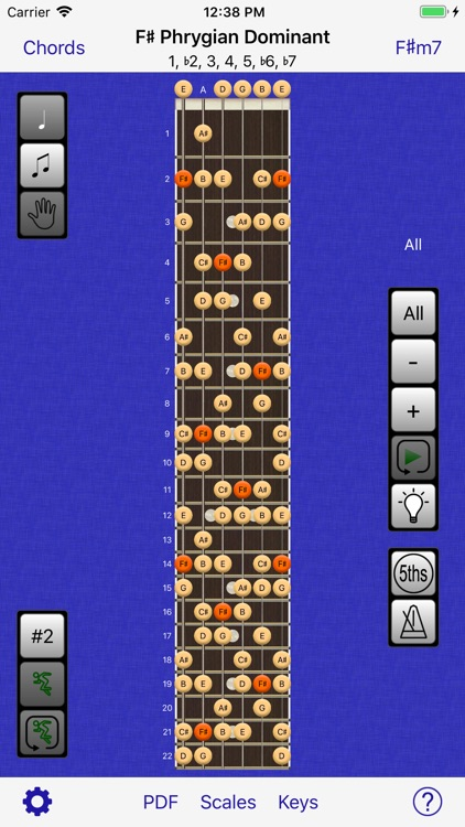 Guitar Scales & Chords Power screenshot-7