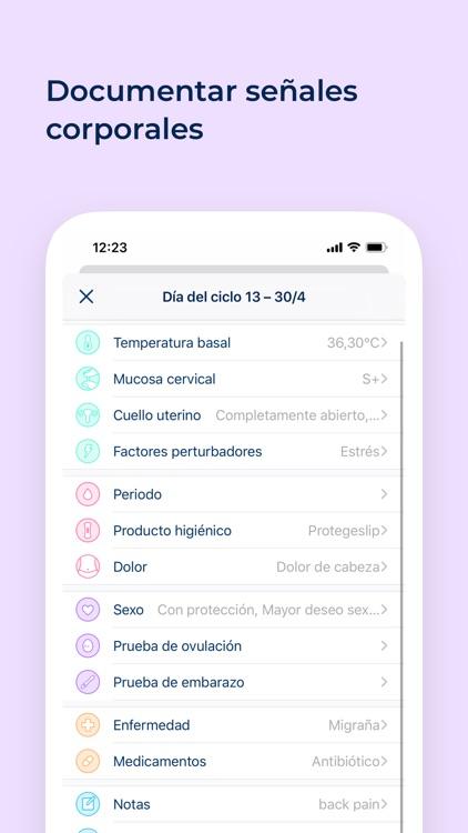 Calendario Menstrual Ovy screenshot-3