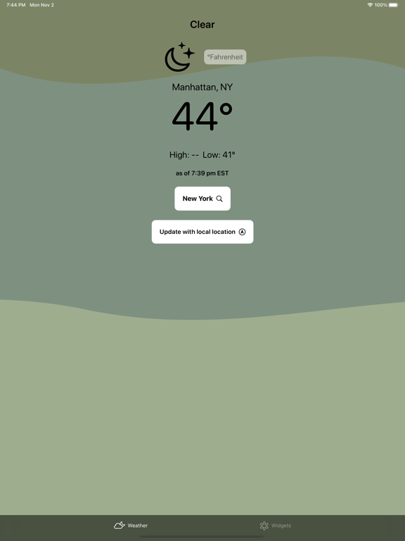 Drip - Weather Widget Screenshots