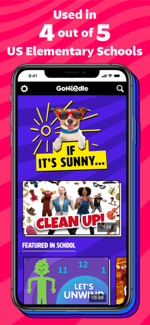 ‎GoNoodle - Kids Videos Screenshot
