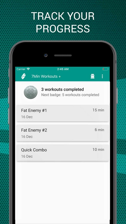 7 Minutes Workouts PRO screenshot-3