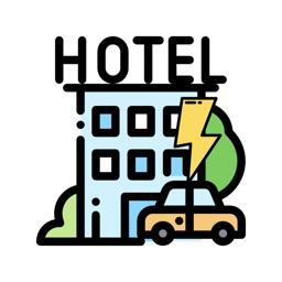 EV充電ホテル検索・予約アプリ EVホテル