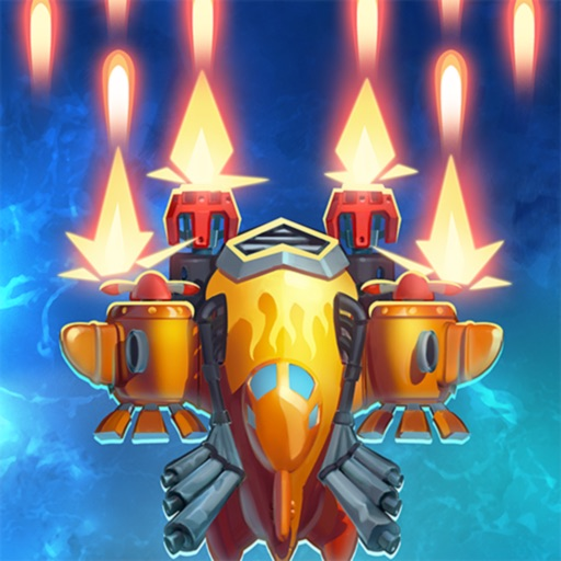 HAWK: Airplane Fighter jet sky iOS Hack Android Mod
