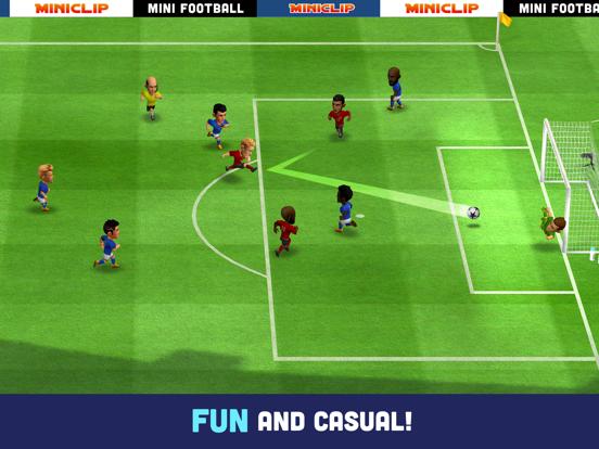 Mini Football - Soccer game iPad app afbeelding 1