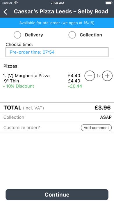 Caesar's Pizza Leeds screenshot three